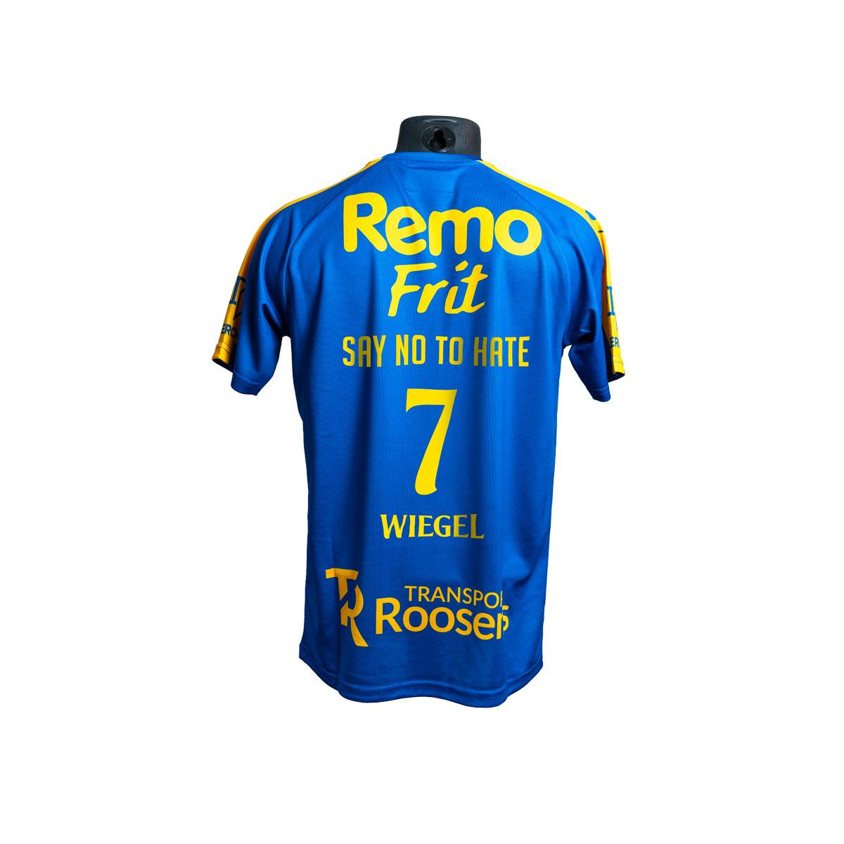Topfanz Say No To Hate - shirt Wiegel