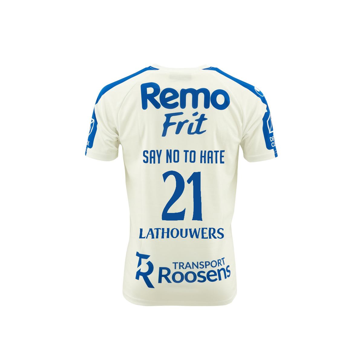 Topfanz Say No To Hate - shirt Lathouwers