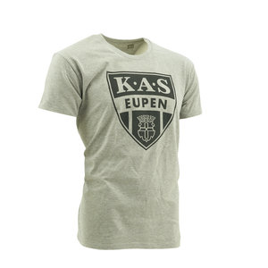 T-shirt gris logo