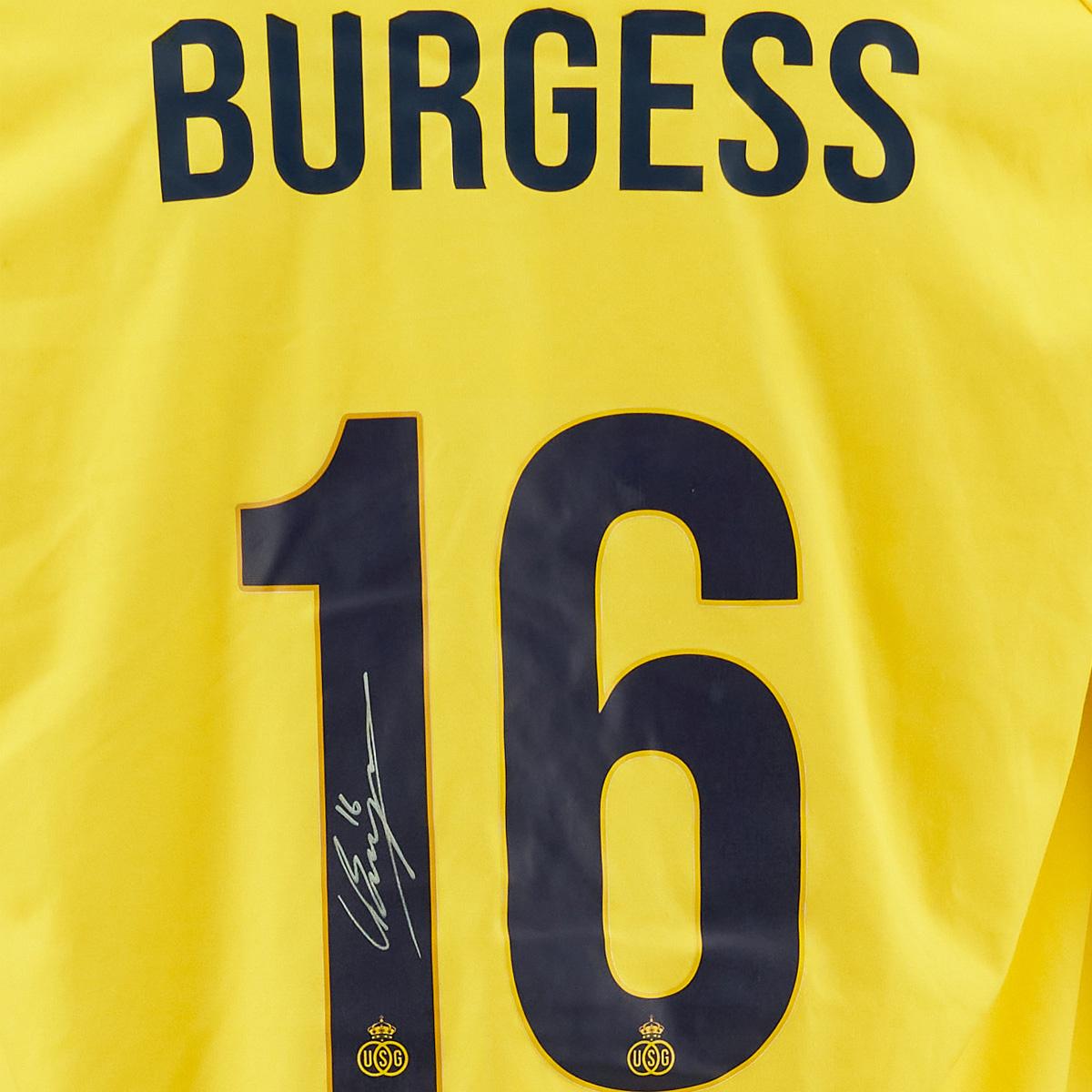 Topfanz #16 Christian Burgess