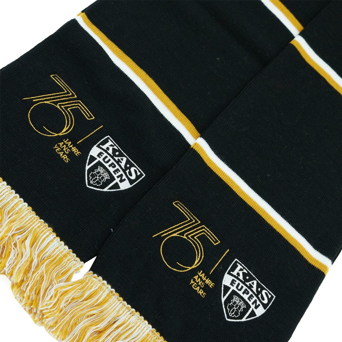 Topfanz Bar scarf black 75 logo