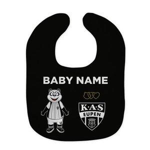 Baby bib name and logo