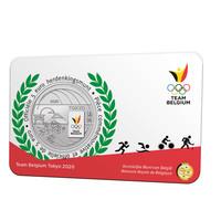 "Officiële munt (5€) Team Belgium ""Tokyo2020"""