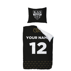Personalised  bed cover - logo 1pers