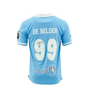 Game jersey De Belder blue