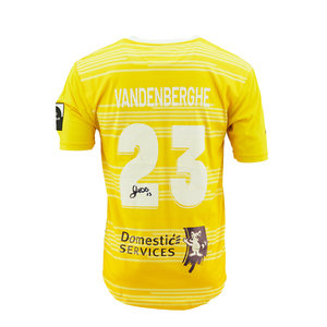 Game jersey Vandenberghe yellow