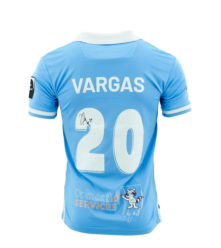 Wedstrijdshirt Vargas Blauw