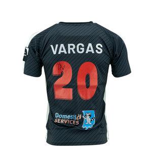 Wedstrijdshirt Vargas Zwart