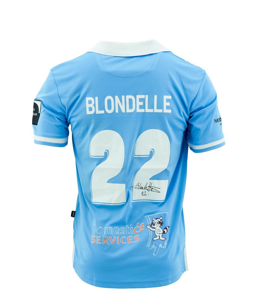 Wedstrijdshirt Blondelle Blauw