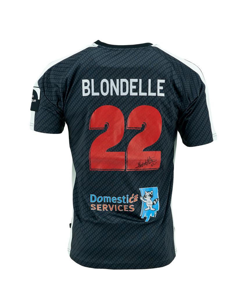Wedstrijdshirt Blondelle Zwart