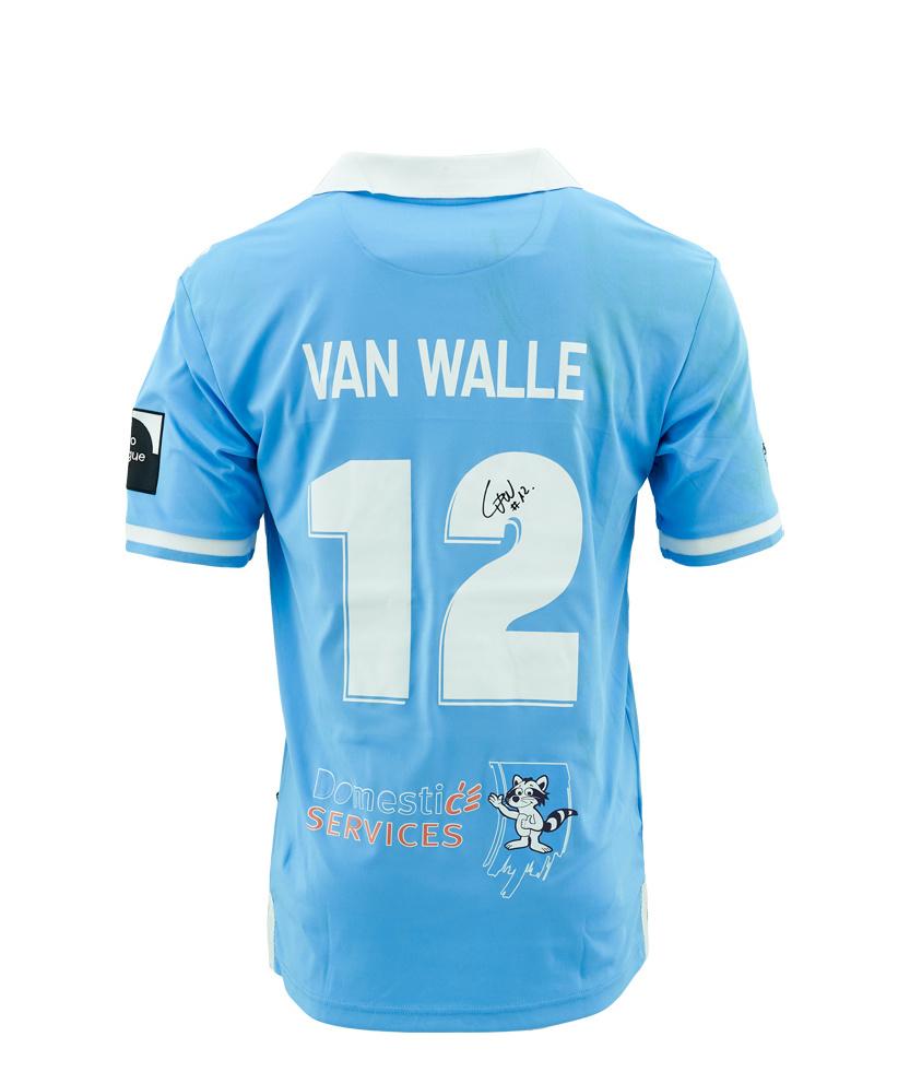 Wedstrijdshirt Van Walle Blauw