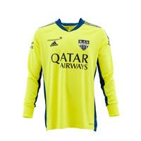 KASE Shirt Yellow - Matchworn vs Charleroi Player Nr 31 Théo Defourny