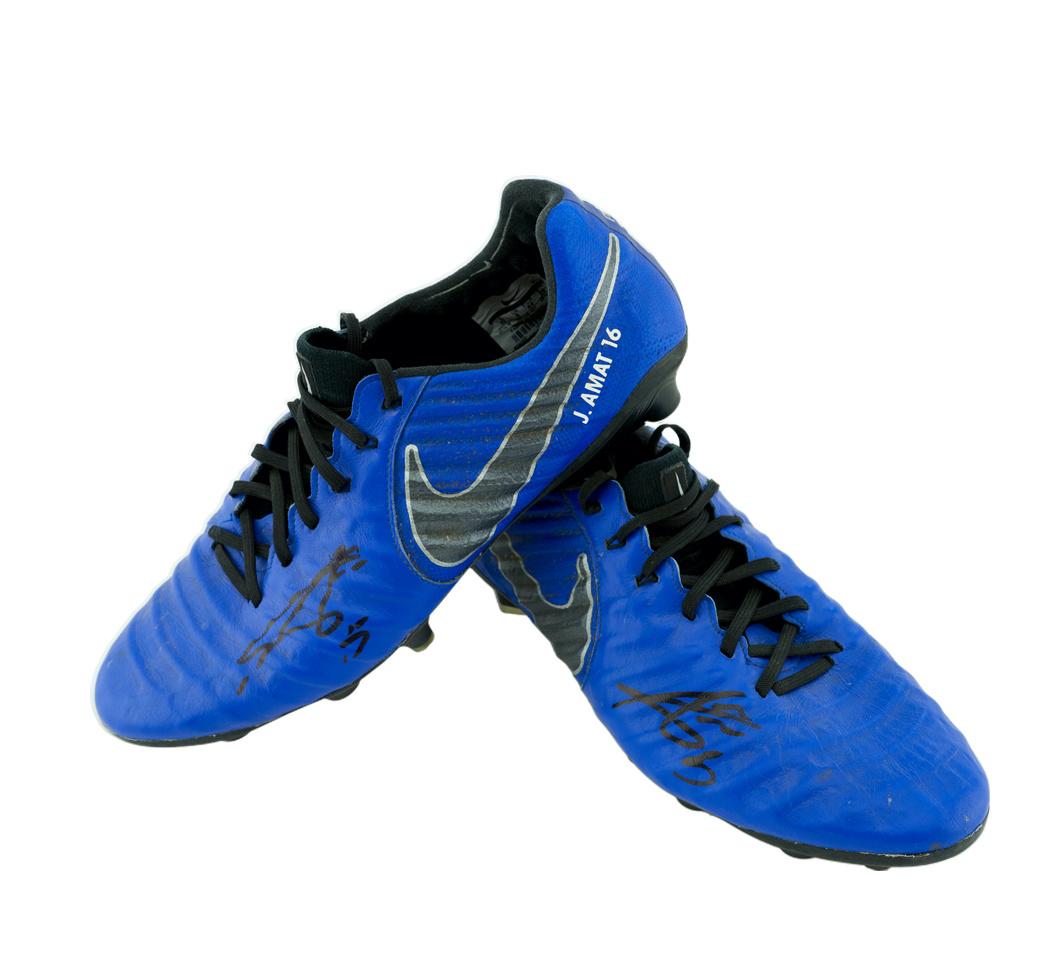 Football shoes Player Nr5 Jordi Amat