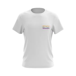 T-shirt wit Merci Poupou