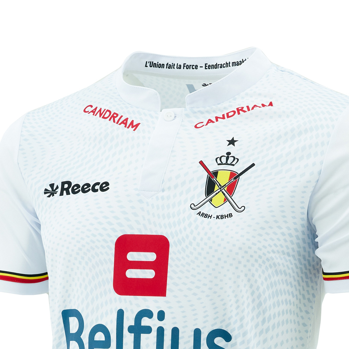 Topfanz Official match shirts wit Red Lions