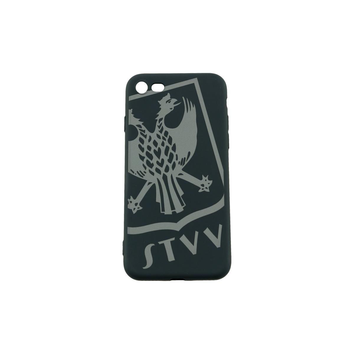 Topfanz GSM cover grijs logo