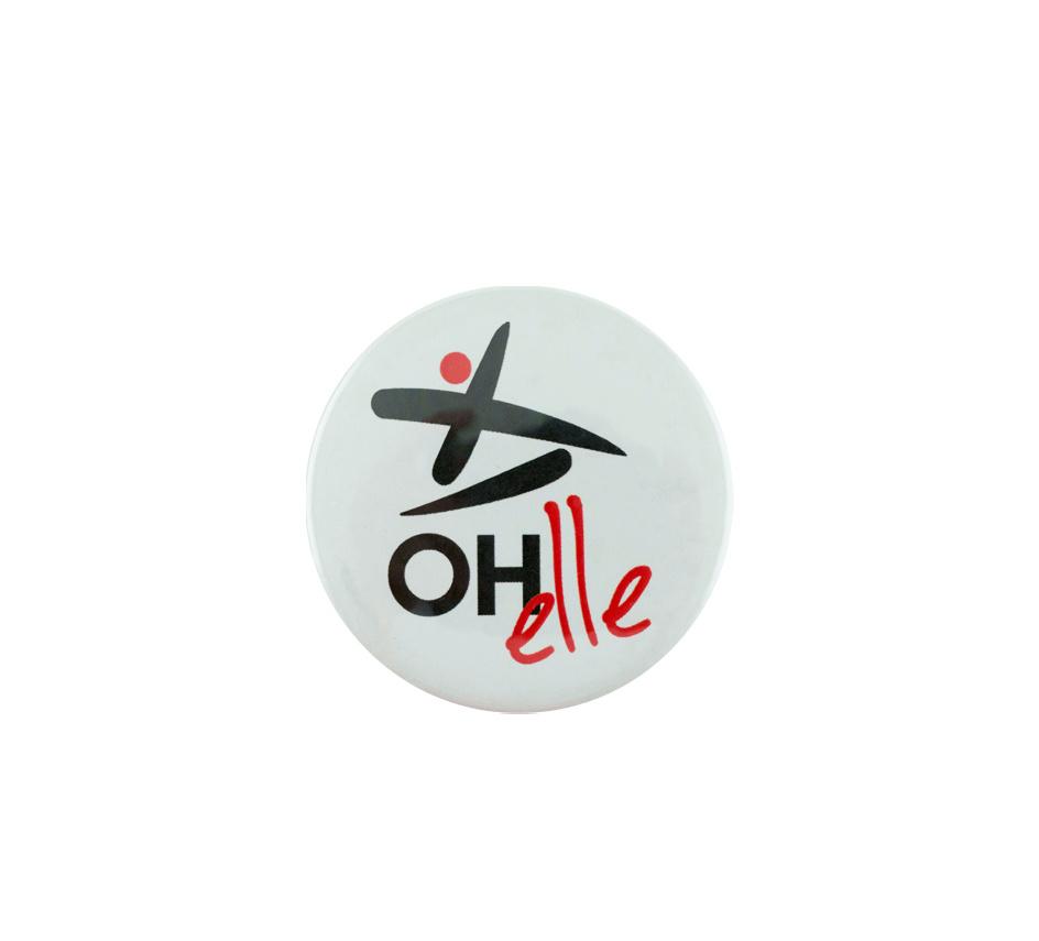 Topfanz Badge OH-elle