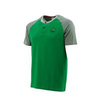 Topfanz Shirt groen - grijs
