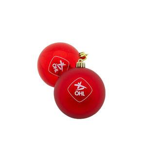 Christmas baubles 2020-2021 (2PCS)