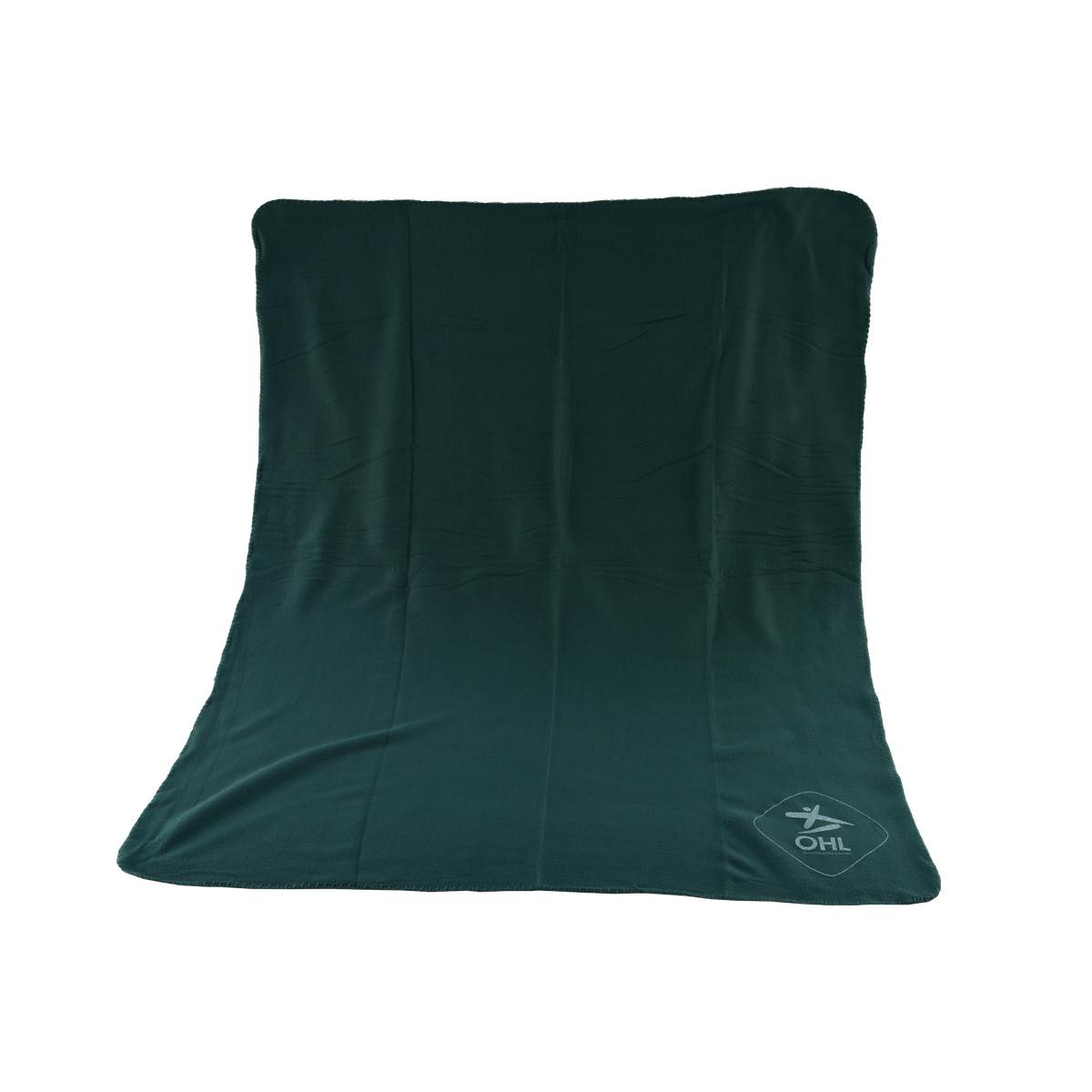 Topfanz Fleece deken groen