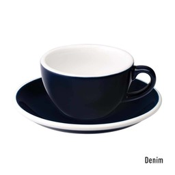 Loveramics Lungo kop en schotel 150ml - Denim Blue