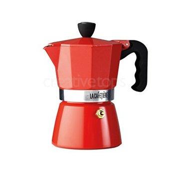La Cafetière Espressomaker 3 tas 200ml Rood