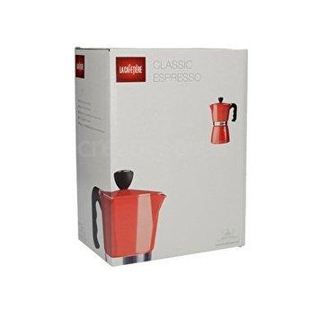 La Cafetière Espressomaker 6 tas 300ml Rood