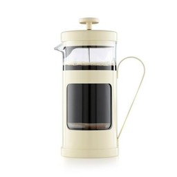 La Cafetière French Press Monaco 1l - Creme Wit