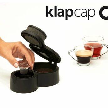 Klap Cap  vul systeem voor koffie cups