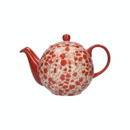 London Pottery Theepot 1l Splash - Rood