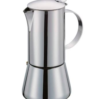 Cilio Espressomaker Aida 2 tasjes - Inox