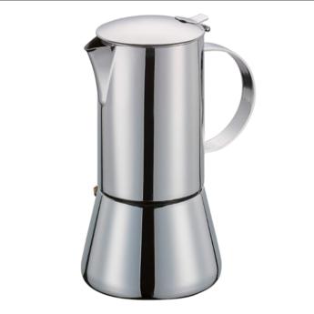 Cilio Espressomaker Aida 6 tasjes - Inox
