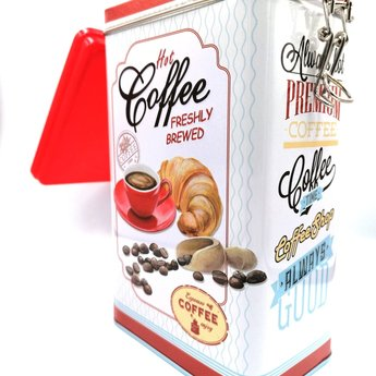Easy Life Hot Coffee - Blikken Koffiedoos
