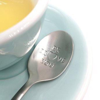 "Style De Vie One Message Spoon - ""PS. I love you"""