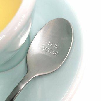 """Style De Vie One Message Spoon - """"Hello Sugar"""""""