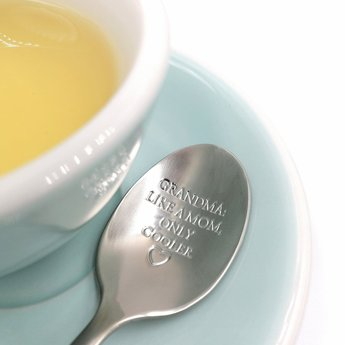 "Style De Vie One Message Spoon - ""Grandma: like a mom but cooler"""