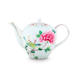 Pip Studio Theepot 1.6l - Blushing Birds Wit