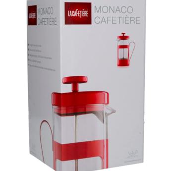 La Cafetière French Press Monaco 0.35l - Rood