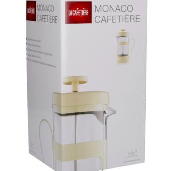 La Cafetière French Press Monaco 0.35l - Crème Wit