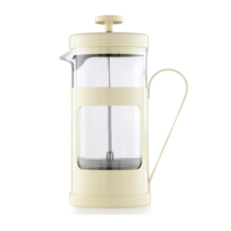 La Cafetière French Press Monaco 0.35l - Crème Wit