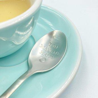 "Style De Vie One Message Spoon - ""You make me happy"""