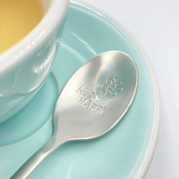 "Style De Vie One Message Spoon - ""Bee happy"""