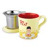 Or Tea Theebeker met Filter - Beeeee Calm