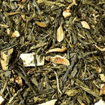 Earl Grey groen. Groene thee geparfumeerd, 100gr