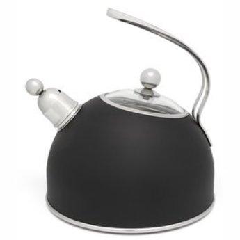 Bredemeijer Fluitketel mat zwart 2.5L