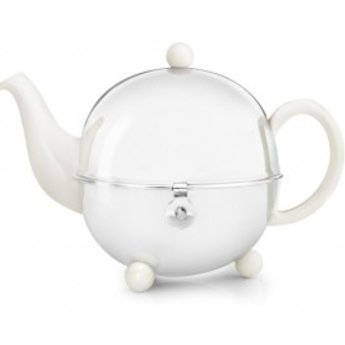 Bredemeijer Theepot Cosy 900ml - Wit