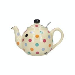 London Pottery Theepot Dots Multi Color 1.5L