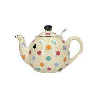 London Pottery Theepot Dots Multi Color 1.5L  London Pottery
