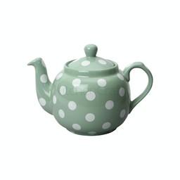 London Pottery Theepot Dots Groen 1.2L