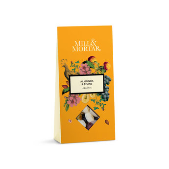 Mill & Mortar Almonds & Raisins, Mill & Mortar, Organic